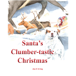 book: Santa's Clumber-tastic Christmas by Jan Irving (2014)