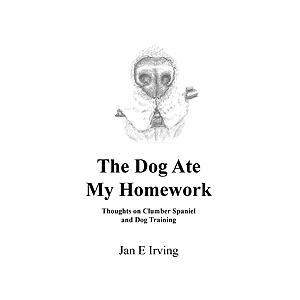 book THE DOG ATE MY HOMEWORK by Jan Irving (2015)